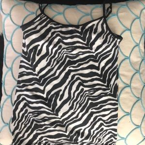 Justice lot 3 tanks and 1 cardigan sizes 8-14